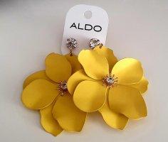 Aldo Orecchino a pendente giallo neon-oro