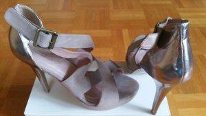 Aldo Hoge hakken sandalen beige
