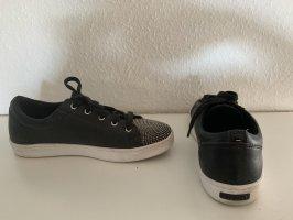 Aldo Sneaker stringata nero-argento