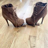 Aldo Heel Boots brown