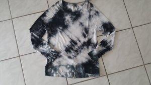 Alessandro Moscatiello Top batik gris anthracite-gris clair viscose