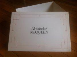 "Alexander Mc Queen""- neue Box, Aufbewahrung - weiß / o. hellgrau"