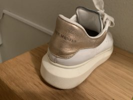 Alexander McQueen Lace-Up Sneaker white-rose-gold-coloured