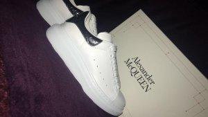 Alexander McQueen Sneakers met veters wit Leer