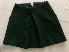 Alexander McQueen Flared Skirt dark green