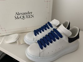 Alexander McQueen Platform Trainers multicolored leather