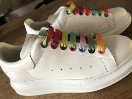 Alexander McQueen Sneakers met veters wit