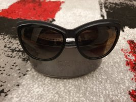 Alexander McQueen Oval Sunglasses black