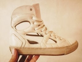 Alexander McQueen / Puma Zapatillas altas blanco puro