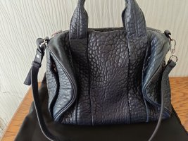 Alexander Wang Rocco Bag Ink Navy Blau Rhodium Leder Tasche