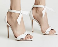 Alexandre Birman High Heel Sandal white