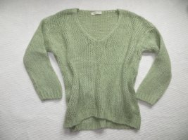Alexandre Laurent Paris Maglione di lana verde pallido Mohair