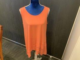 Alfani Tunique-blouse orange polyester