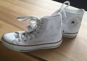 All Star Basket montante blanc