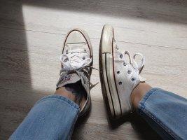 All Star Converse Chucks weiß gebraucht Sneaker  Turnschuhe