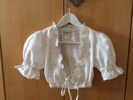 Almenrausch Folkloristische blouse wit