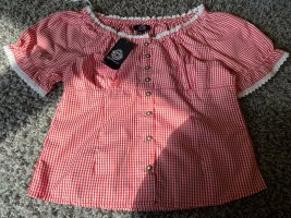 Almenrausch Carmen Shirt bright red