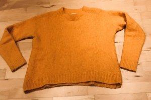 H&M Maglione oversize arancione chiaro