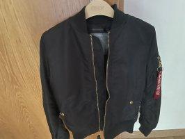 Alpha Industries Bomber Jacket black