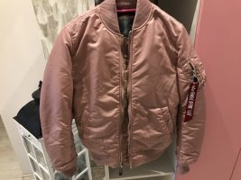 Alpha Industries Chaqueta bomber color rosa dorado
