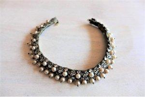 Alt antik vintage Leni Kuborn-Grothe Kitzbühel Tracht Collier Perle Kette 50er