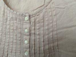 Altrosa Bluse mit Knopfleiste