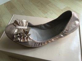 Altrosa-metallic Ballerinas von Bloch