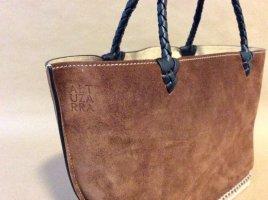 Altuzarra Bolso color bronce tejido mezclado