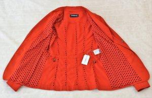AMBIENTE Sommer Jacket Damen, Größe 36, Orange