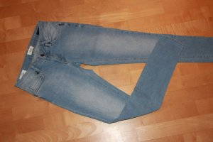 America Today Skinny Jeans azure cotton