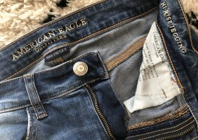 American Eagle Outfitters Jeans skinny bleu foncé