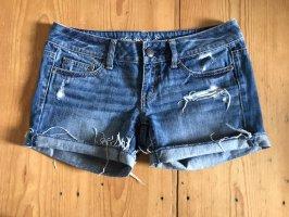american eagle Denim Shorts blue-slate-gray