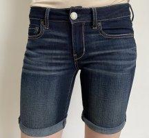 American Eagle Outfitters Short en jean bleu acier coton