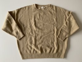 American Vintage Pull tricoté chameau-beige