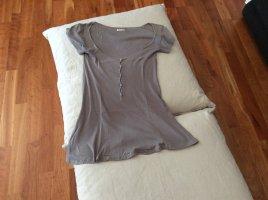 American Vintage Shirt//Grau//Ripp//Größe S