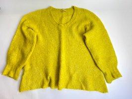 American Vintage Pull col en V jaune