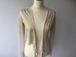 Ana Alcazar Knitted Bolero sand brown viscose