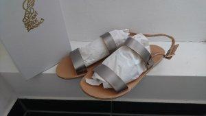 Ancient greek sandals Sandalias multicolor Cuero