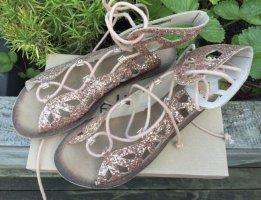 Bellucci Roman Sandals multicolored leather