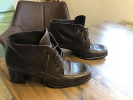 Andrea Conti Cap Toes dark brown