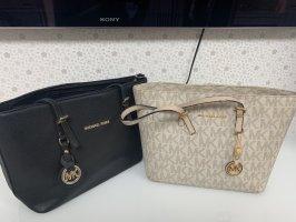 Michael Kors Carry Bag cream-black