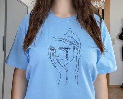 """angel-eyes""-tshirt (oversized)"