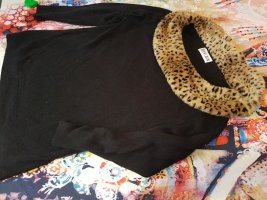 Vivien Caron Knitted Sweater black-camel