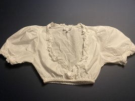 Angermaier Traditional Blouse white cotton