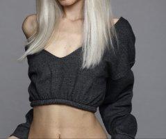 Angesagter Cropped-Sweater von PLT