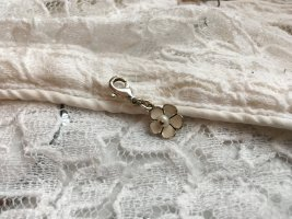 Pilgrim Colgante color plata-blanco