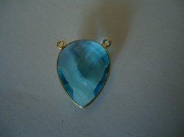 Hanger korenblauw