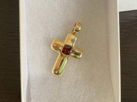 Anhänger Kreuz Gold