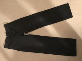 Anine Bing Jeans a vita alta grigio scuro-nero Denim