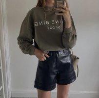 Anine Bing Bluza dresowa khaki